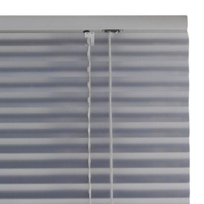 Persiana de aluminio 120 x 165 cm plateada