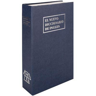 Cofre seguridad libro 25 x 20 x 7,5 cm