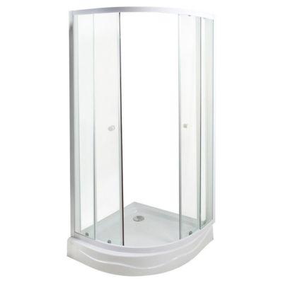Cabina de ducha curva 80 x 80 x 200 cm