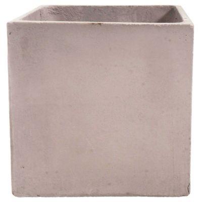 Maceta Cubo Fibrocemento 25 x 25 cm