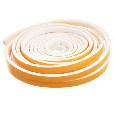 Burlete adhesivo standard 6 m blanco