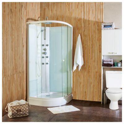 Cabina de ducha con hidromasaje 90 x 90 x 200 cm