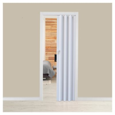 Puerta plegable Milano blanca 70 x 200 cm derecha/izquierda