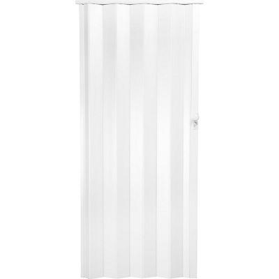 Puerta plegable Milano blanca 90 x 200 cm derecha/izquierda