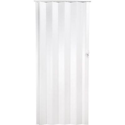 Puerta plegable Milano blanca 120 x 200 cm derecha/izquierda