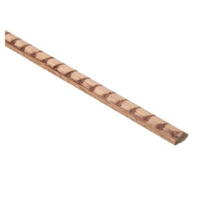 Moldura de madera grabada 6150 5 x 10 mm x 180 cm