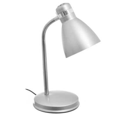Lámpara escritorio una luz con base Silver E27