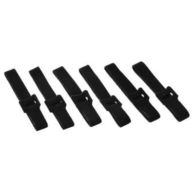 Abrojo precinto sujeta cables 26 mm 6 unidades negros