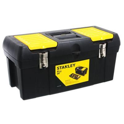 """Caja de herramientas plástica 24"""" con organizador"""