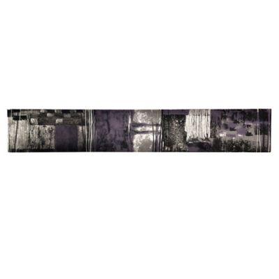 Revestimiento 10 x 60 cm vídrio decorado Munch violeta