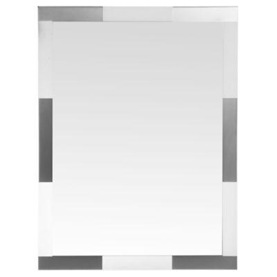 Espejo para baño Silver 75 x 100 cm