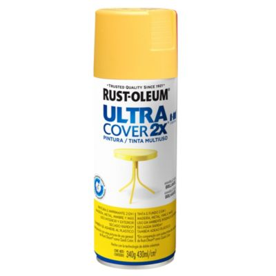Aerosol Ultra Cover 2x amarillo sol brillante 340 gr