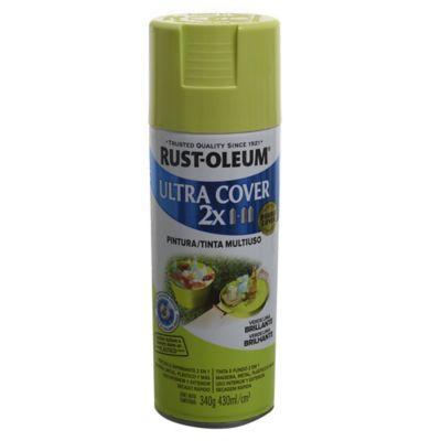 Aerosol Ultra Cover 2x verde lima brillante 340 gr