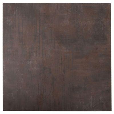 Porcelanato mate 58 x 58 cm Oxidum Cupri marrón 1.35 m2