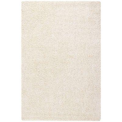 Alfombra Conrad Shaggy 133 x 200 cm beige