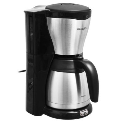Cafetera 1000 w negra 1,2 L