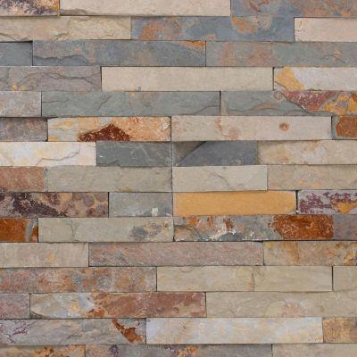 Revestimiento piedra 60 x 15 cm óxido 0,63 m2