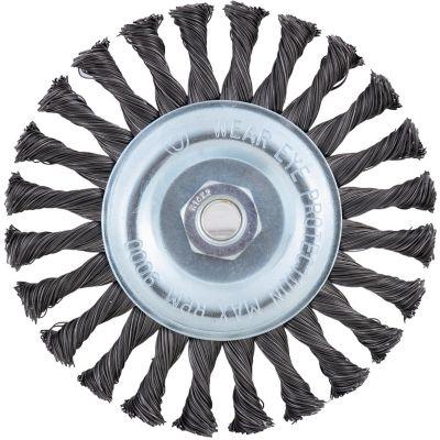 Grata circular de acero trenzado 150 mm