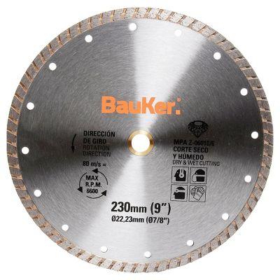 Disco diamantado turbo para concreto 230 mm