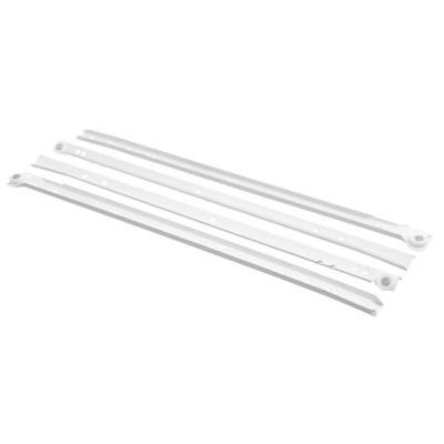 Corredera para cajón de 50 cm blanco