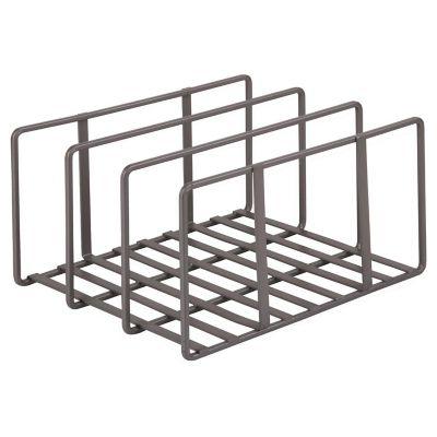 Organizador de bandejas metal 25 x 22 x 14 cm