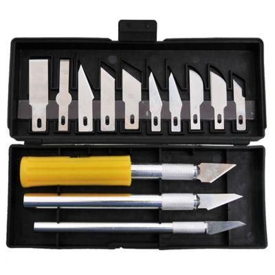 Set cuchillas para hobby y manualidades 17 piezas