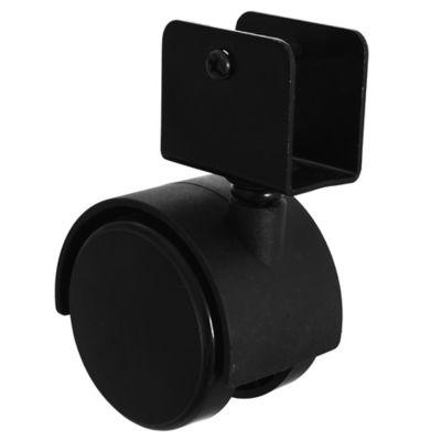 Rueda para mueble 50 mm con base U 19 mm