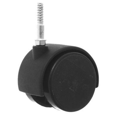 Rueda para mueble 50 mm perno madera 30 mm