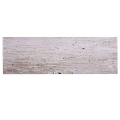 Porcelanato mate 19 x 58 cm Etna gris 1.32 m2