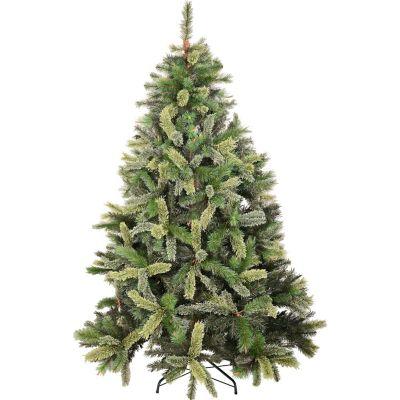 Árbol navideño 210 cm bicolor