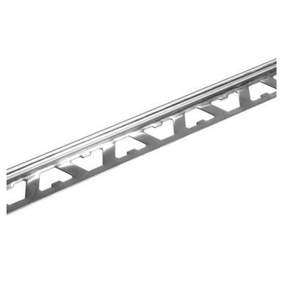 Varilla de acero inoxidable en L 10 mm x 2,5 m brillante