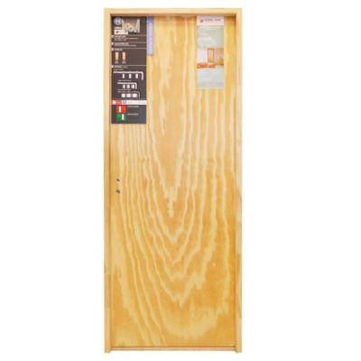 Puerta de interior placa Klara 70 x 200 x 7 cm Marco de Madera Derecha