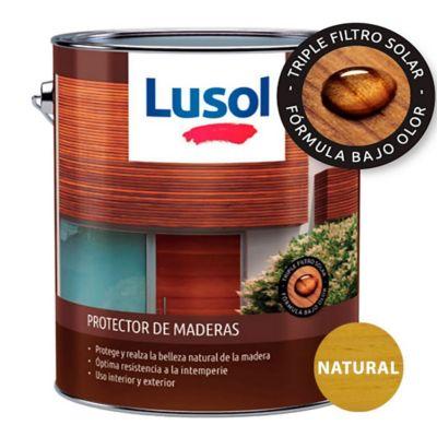 Protector de madera exterior e interior natural 4 L