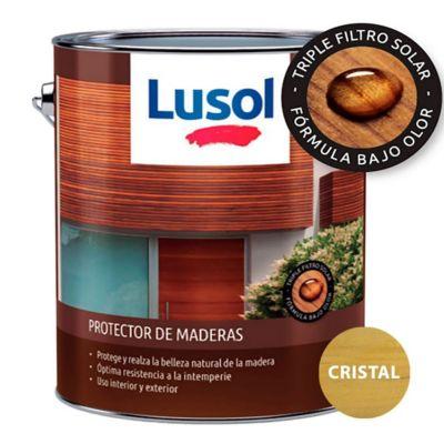Protector de madera exterior e interior cristal 4 L
