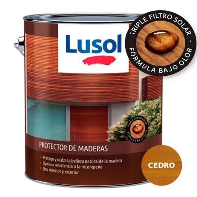 Protector de madera exterior e interior cedro 4 L