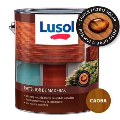 Protector de madera exterior e interior caoba 4 L