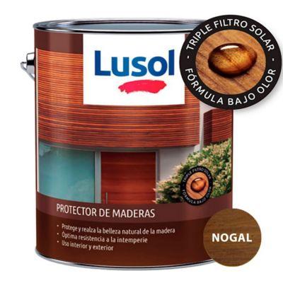Protector de madera exterior e interior nogal 4 L