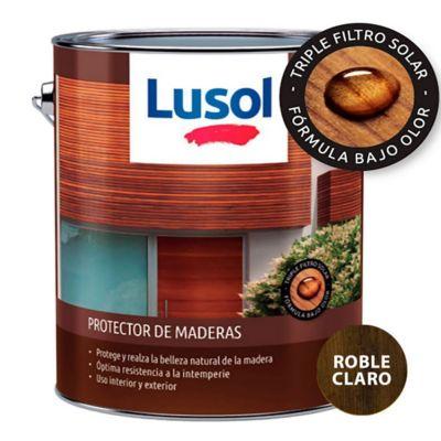 Protector de madera exterior e interior roble 4 L