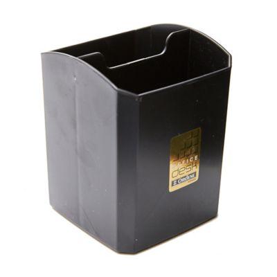 Porta lapicero negro