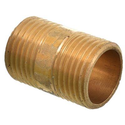 "Niple bronce 1/2"" x 3 cm"