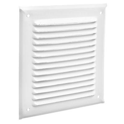 Rejilla de ventilación con mosquitero 15 x 15 cm