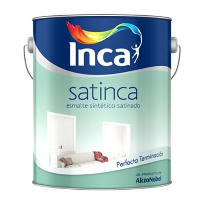 Esmalte Sintético Satinca Blanco 20 l