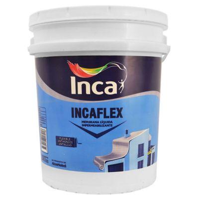 Membrana líquida impermeabilizante Incaflex blanco 20 L