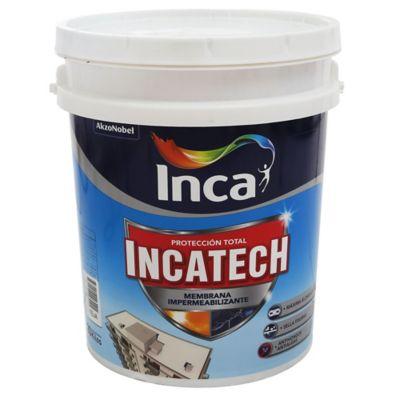 Membrana impermeabilizante Incatech fibrado blanco 20 kg