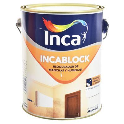Impermeabilizante Incablock Blanco 4 l
