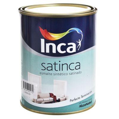Esmalte Sintético Satinca Blanco 1 l