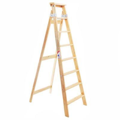 Escalera familiar pino 8 escalones