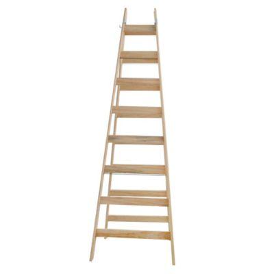 Escalera pintor pino am 8 peldaños