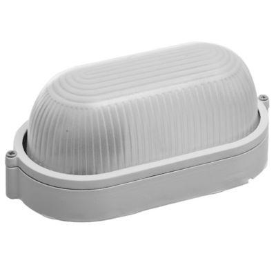 Tortuga Ovalada de Acrílico sin Reja 1 Luz 40 W Blanca
