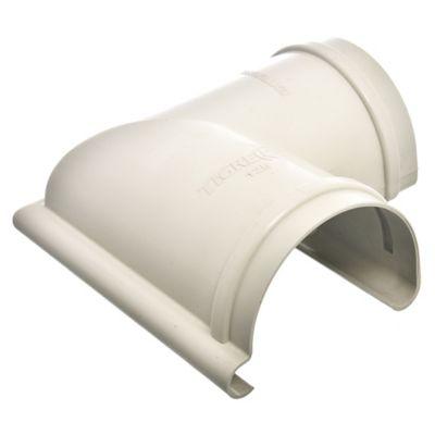 Esquinero para canaleta Aqua beige 12,5 cm